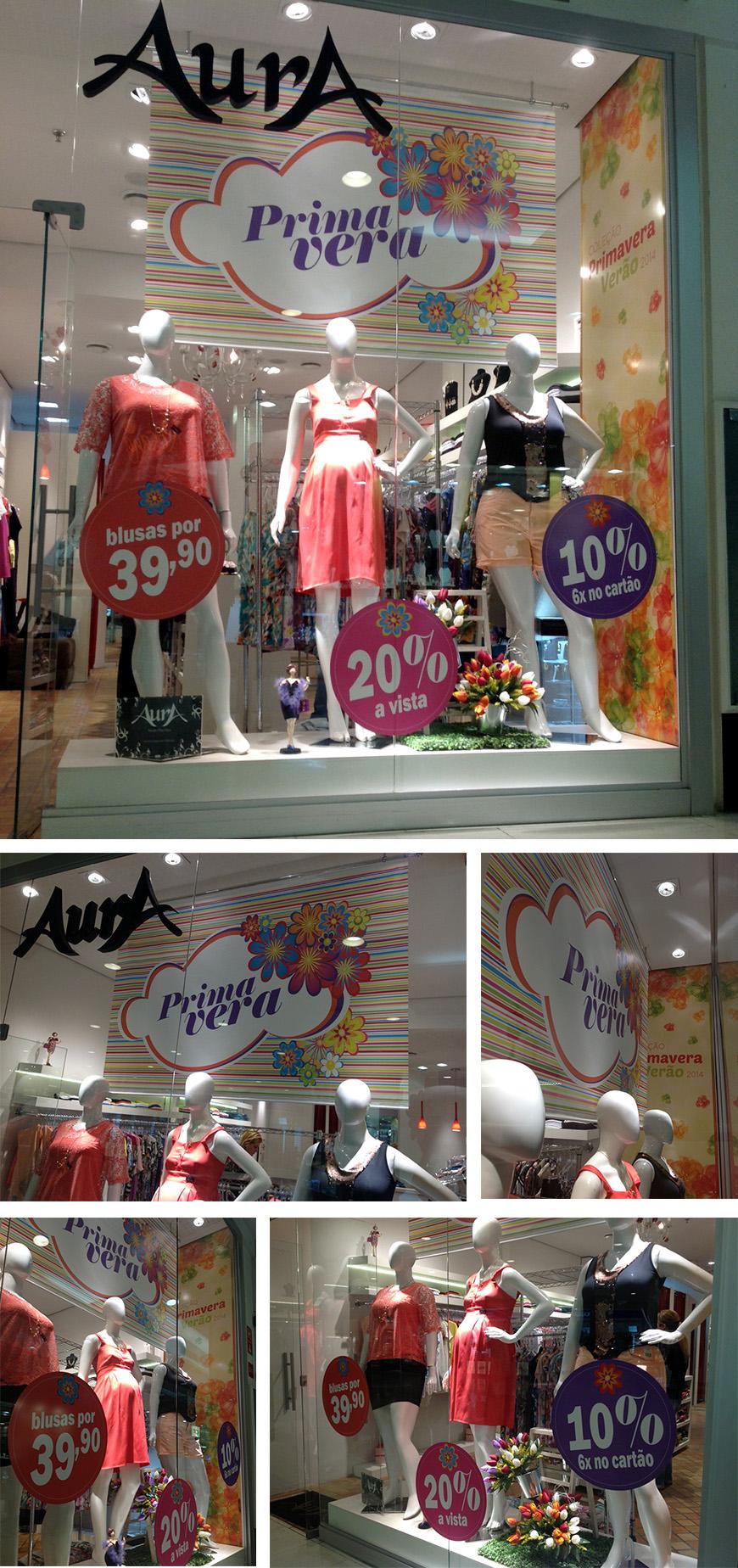 Visual Merchandising - Aura