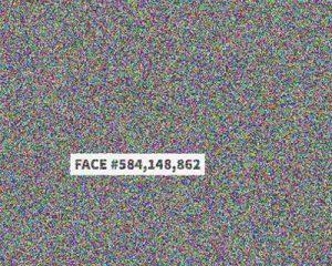 Tela do aplicativo 'The Faces of Facebook'